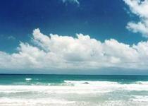 西秀海滩是距海口最近和最大的海水浴场