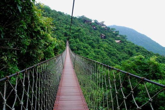 过江龙索桥