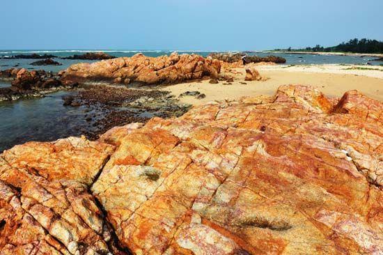 虎角海滩美景