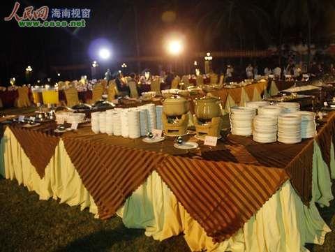丰盛的晚宴