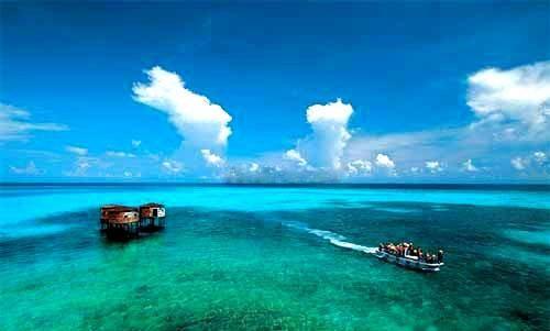 西沙群岛的美景
