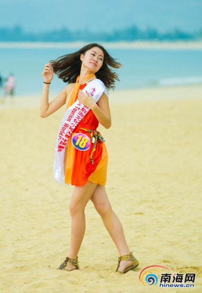 2012世界旅游文化小姐大赛中国总决赛佳丽形象展示