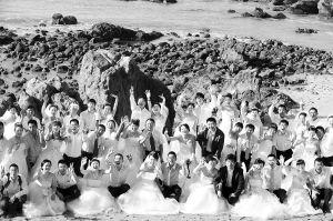 """三亚""""天涯海角国际婚庆节""""是海南的一张旅游名片。 海南日报记者 苏建强 摄"""