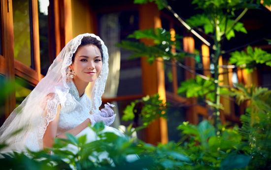 唯美的婚纱