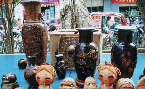 文昌的椰雕艺术