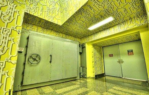 位于美国西弗吉尼亚州的二战时期的地下掩体,如今是一家四星级宾馆