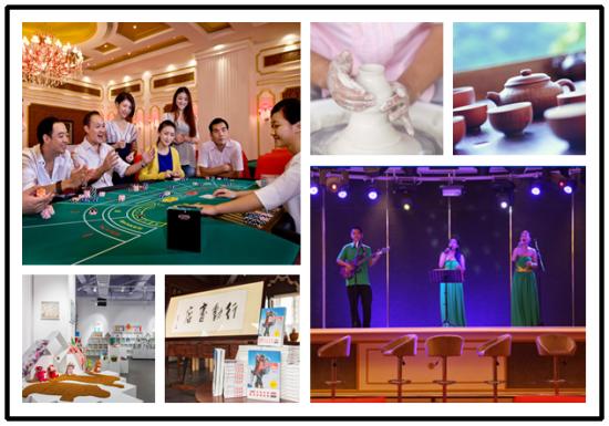 三亚湾红树林度假酒店娱乐设施