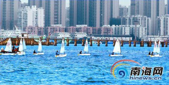 帆船、帆板训练