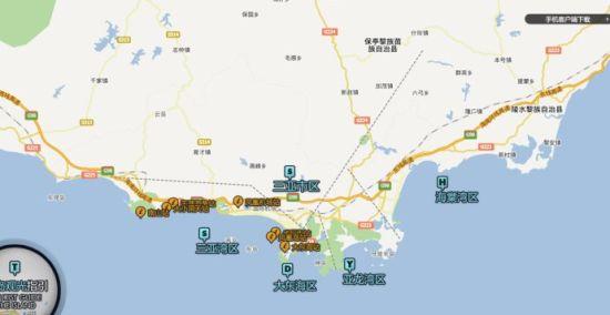 三亚的几个海湾
