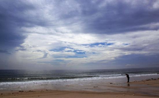 海南特有的阴柔美的天空