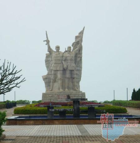 临高角解放军雕像