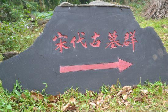 湧潭村现存宋代古墓群