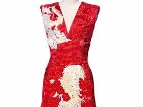 12款喜气满身的中式礼裙