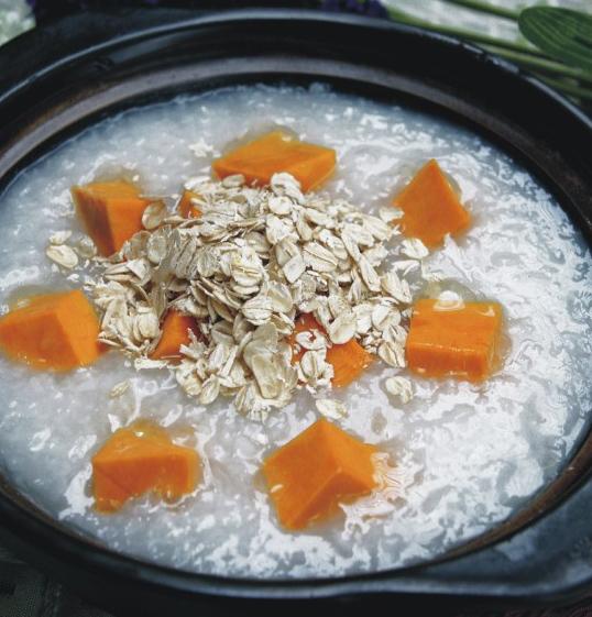 黄豆糙米南瓜粥