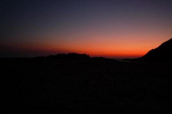 凌晨,我们在等日出ing。。。