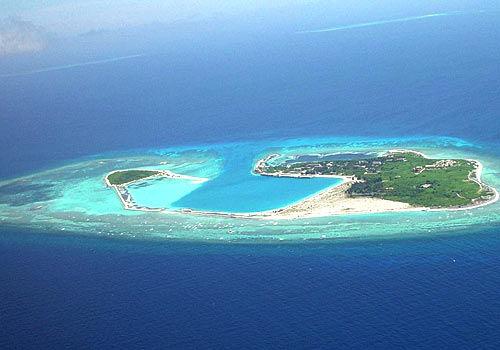 美丽的西沙群岛