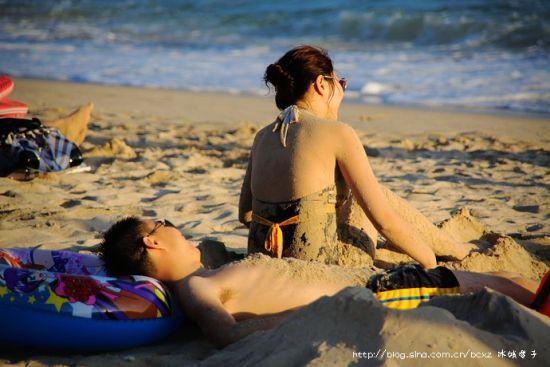 ▲11、海边的幸福时光
