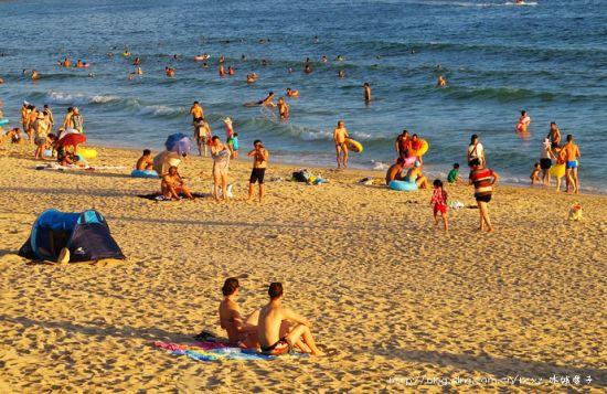 ▲29、阳光明媚的浪漫海湾