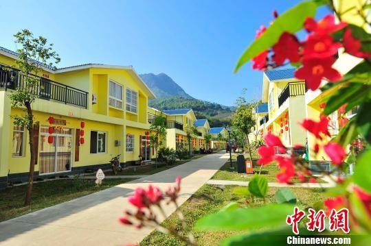 图为白沙县元门乡罗帅村一景。 骆云飞 摄