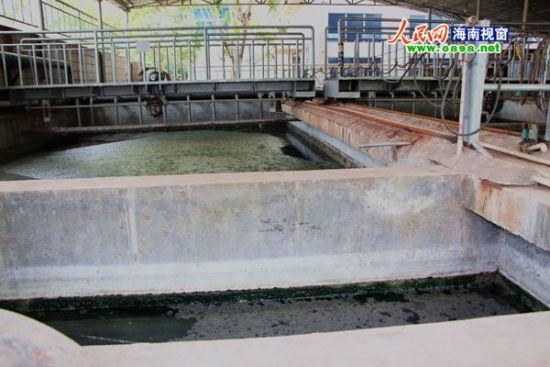污水处理池(全景)