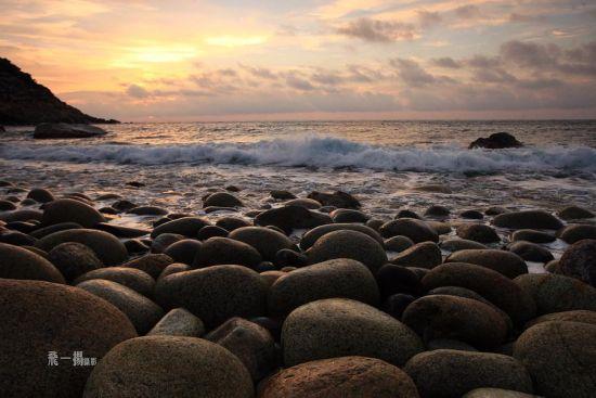 大花角海上日出