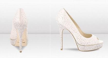 海南岛结婚变身华贵新娘 jimmy choo婚鞋系列