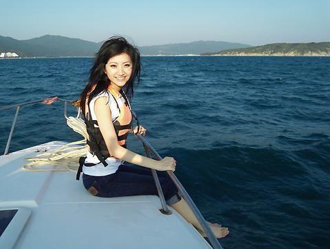 蔚蓝的大海