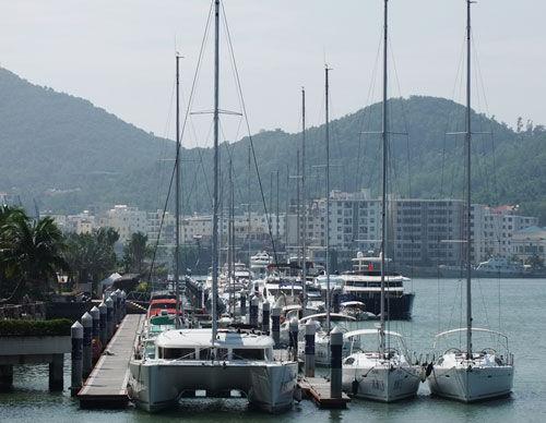 三亚游艇码头