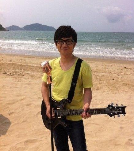 金志文在海南万宁拍MTV拍摄细节
