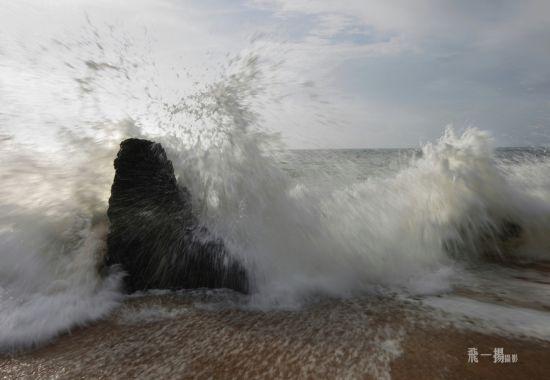海浪的美丽