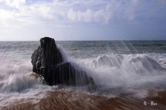海浪的洗礼
