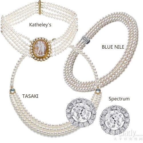 层叠珍珠项链推荐