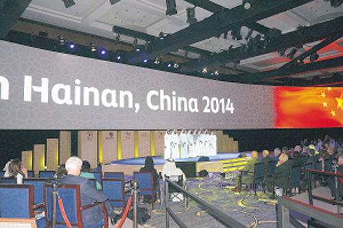 明年的世界旅游旅行大会将在海南举行。(杨春虹 摄)
