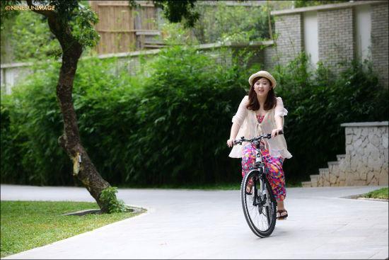 自行车上的快乐