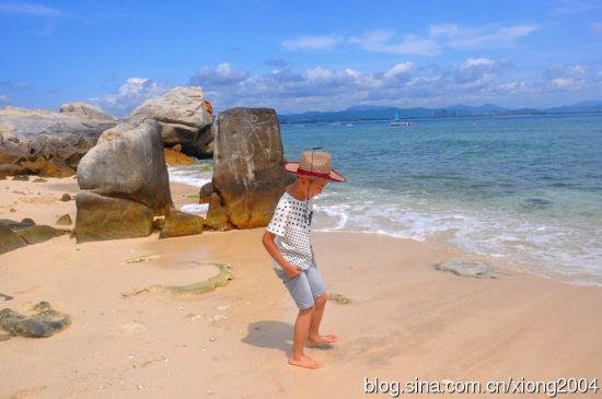 大海边童年的快乐