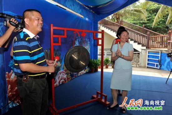 """""""五一""""起可在分界洲岛参观中国最大珊瑚馆"""