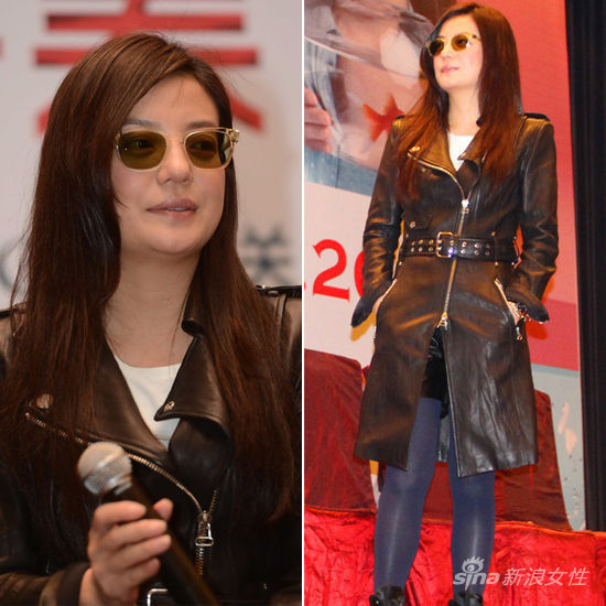 赵薇在《致青春》上海首映见面会上