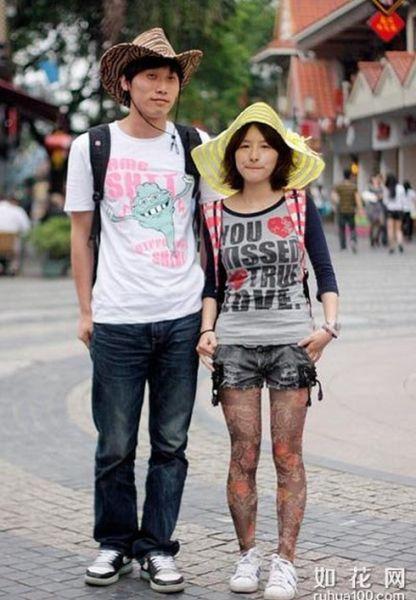 台湾街头时尚型人秀