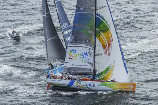 沃尔沃环球帆船赛 三亚号