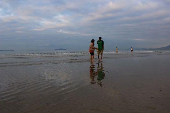 不一样的沙滩