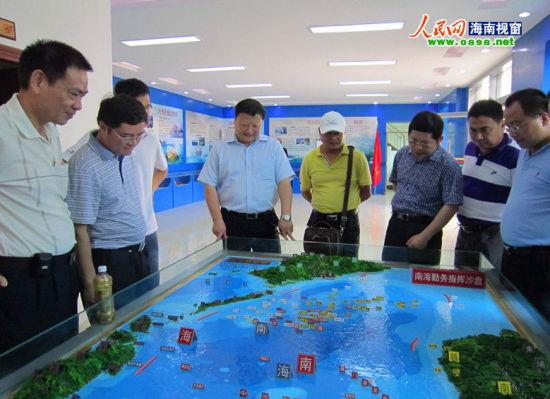 省旅游市场综合整治检查组对琼海旅游市场进行调研
