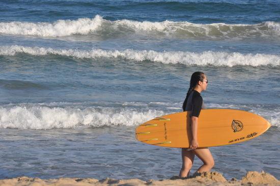 感受海浪的激情