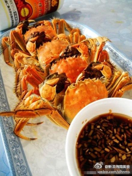 布飞盘的制作方法图形- 清蒸大闸蟹的做法 图