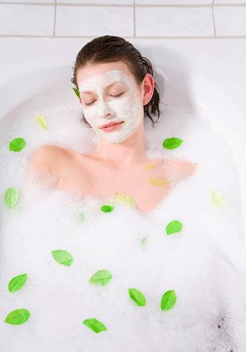 少女肌养成第6招:洗澡