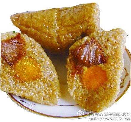 不同于北方美食的海南肉粽(图)_海南微v美食美国际枫粽子蓝购物中心图片