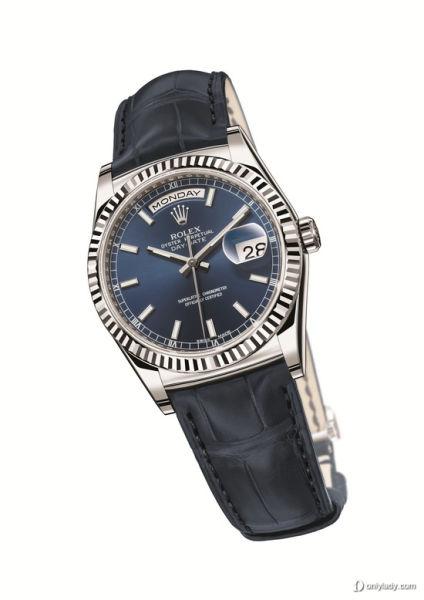 劳力士蚝式恒动星期日历型腕表