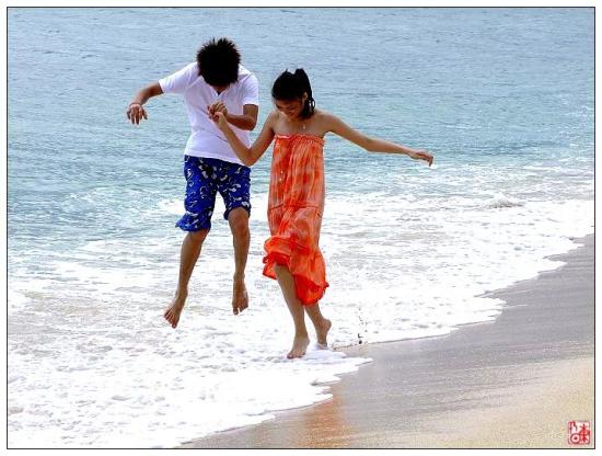 只有你我的海滩