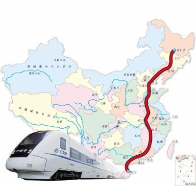从海口飞往哈尔滨的飞机算上经停的时间,整个用时也就7个小时左右