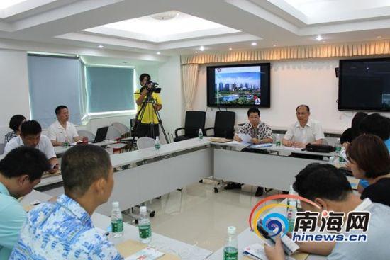 沈阳市旅游局在三亚举办沈阳旅游三亚推介会南海网记者马伟元摄