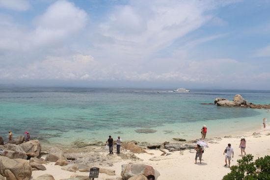 蜈支洲岛美景